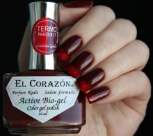 El Corazon, Active Bio-gel Color gel polish Termo №423-817