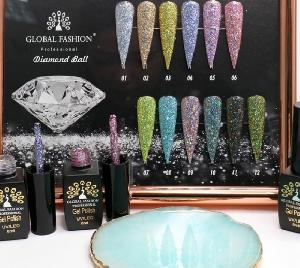 Гель лак Global Fashion Diamond Bal