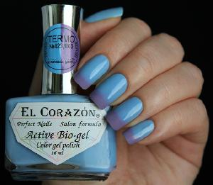 "EL Corazon Active Bio-gel Color gel polish  ""Termo"" №423/803"