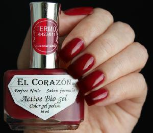 "EL Corazon Active Bio-gel Color gel polish  ""Termo"" №423/811"