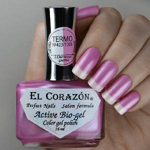 "Active Bio-gel Color gel polish ""Termo"" №423/1203"
