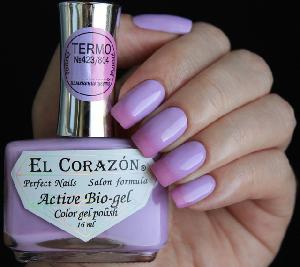 "EL Corazon Active Bio-gel Color gel polish  ""Termo"" №423/804"