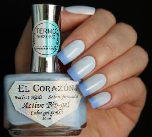 "EL Corazon Active Bio-gel Color gel polish  ""Termo"" №423/802"