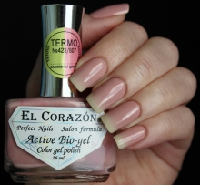 El Corazon, Active Bio-gel Color gel polish Termo №423-807